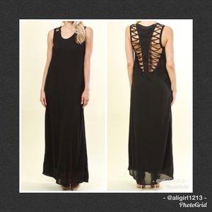 🆑 Last 2  - Webber Back Maxi Dress